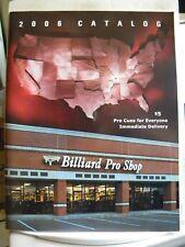 2006 Catalog Pool Cue Brochure, Schon, Joss, Predator, Falcon, Mcdermott,