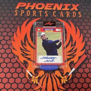 ABRAHAM ANCER Rookie XRC Auto 2021 Leaf Pro Set Multi Sports Autograph PHX