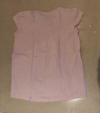 TU Delightful Pale Pink Cap Sleeve Girls Flared T-Shirt Top Girl Age 5 Years