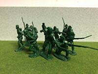 Barzso Playset Rogers' Rangers Figures French Indian War 54 mm Lot of 10