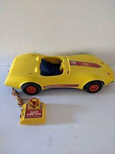 Vintage 1979 Barbie Remote Control Super'vette-Yellow Corvette Car