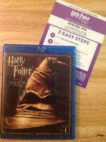 Harry Potter and the Sorcerers Stone Year 1 (Bluray,2016,2-Disc)Authentic US
