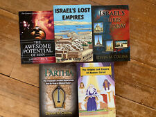 Lot Of 5 British Israelism Books NEW CI Church Of God Israel Lost Tribes Collins