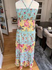 Accessorize Bandeau Long Dress Vintage Floral Size Medium