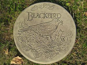 BLACKBIRD (A) stepping stone garden ornament/other design's in my shop