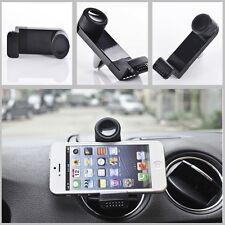 Car Suv Air Frame Vent Mount Cradle Bracket Stand Black Clip Holder For iPhone 6