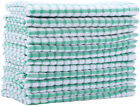 Kitchen Towels Bulk 100 Cotton Kitchen Dish-Cloths Scrubbing Dishcloths Sets 11x