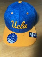 UCLA Bruins Top of the World Snap Back Hat Cap NEW 2tone Energy Blue Lids