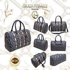 4754faf58a5 ☆Damen Handtasche Giulia Pieralli Frauen Bag Tragetasche Henkeltasche Blau  706☆