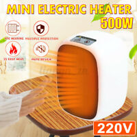 220V 500W Portable Mini Electric Heater PTC Fan Air Home Office Winter Warmer
