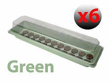 Qty 6 Sow & Grow Propagator Propagation Kit Flowers Drip Tray Hydroponics (8573)