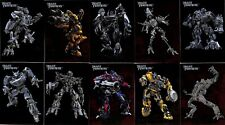 2007 Embossed Foil Transformers Cards Complete Set of 10 Prime, Jazz, Bumblebee
