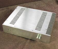 #3207 Silver heatsink Aluminum enclosure for amplifier chassis case 320x70x248