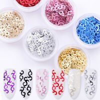 Nail Colorful Gauzy Series Nails Flakies Paillette Design 3D Nail Art Decoration
