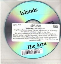 (CQ372) Islands, The Arm - 2008 DJ CD