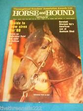 HORSE and HOUND - THOROUGHBRED BREEDERS AWARDS - JAN 14 1988