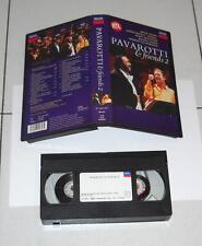 Vhs Luciano PAVAROTTI & FRIENDS 2 – OTTIMO 1995 Decca Giorgia Bocelli