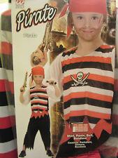 Kinder Kinderkostüm Piratenkostüm Pirat Kostüm S DELUXE