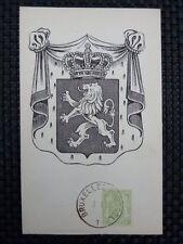 BELGIEN MK 1945 WAPPENLÖWE 1937 MAXIMUMKARTE CARTE MAXIMUM CARD MC CM a6659