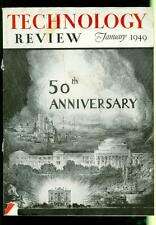 1949 Technology Review Magazine: 50th Anniversary Cover Photo M.I.T.