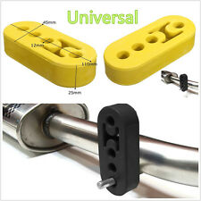 Professional Polyurethane Car Exhaust Pipe Rubber Bracket Hanger Insulator 4Hole