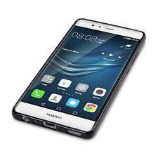 Extreme Element Flexible Drop Proof TPU Gel Case Precision Fit Black Huawei P9