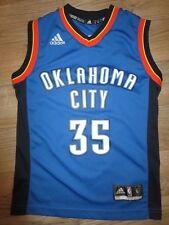 Kevin Durant #35 Oklahoma Ciudad Thunder Adidas NBA Camiseta Youth Sm 8-10 Niños