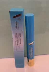 Veil Cosmetics Complexion Fix 2N Light Concealer Highlighter Eye Corrector, New
