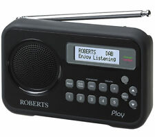 Roberts Play Black Dab/dab /fm RDS Radio 4 Duracell AA Rechargeable Batteries