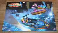 1996 Nintendo Wave Race 64 very rare small Retro Poster 42x28cm