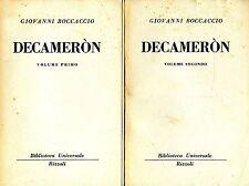 Giovanni Boccaccio = DECAMERÒN Voll.2 BUR 220-227