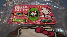 Hello Kitty Sanrio Party Hats NIP 8 pcs Crown Style Black New Birthday