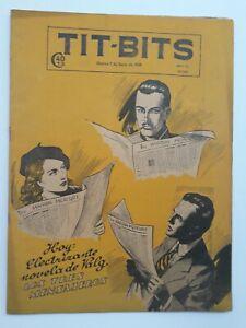 THE THREE MESSENGERS! - TIT-BITS #2085 (1949) -COMIC IN SPANISH-  ARGENTINA