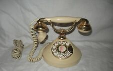 Vintage 1970s French Style Rotary Dial Home Telephone Mon Petit Made in Japan