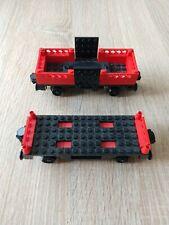 Legoeisenbahn 12 v  Wagons 7839 und 7735