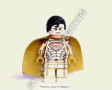 Lego Superman Gold minifigure  (lego custom) mr.gold