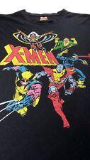 Marvel Comics Mens T-Shirt Black Cotton Blend Short Sleeves Graphic Tee  Size XL