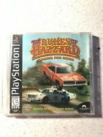 Dukes of Hazzard: Racing For Home Playstation PS1 PS2 COMPLETE Video Game 1999