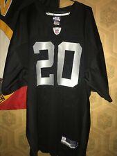 Reebok NFL Jersey Oakland Raiders #20 McFadden men's size 50