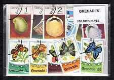 Grenade - Grenada 100 timbres différents