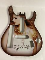 Wii TAYLOR SWIFT Guitar Hero Guitar Limited Edition Faceplate
