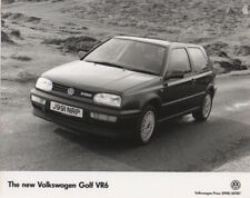 Volkswagen Golf VR6 Mk3 Period Press Photograph - BBS