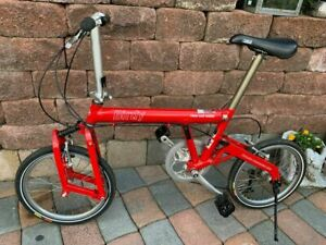 Riese & Müller Birdy BD-1 / Red / Used folding bike