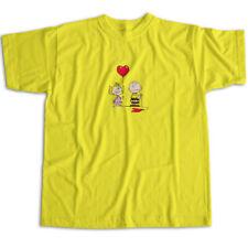 NEW Custom Kingdom Boys Girls Peanuts Charlie Brown T Shirt 12 Months Yellow