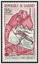 Timbres Sports d'hiver JO Dahomey 311 ** lot 21836