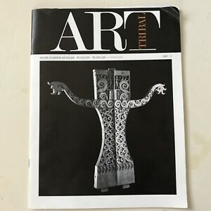TRIBAL ART issue no. 1 1987 Musee Barbier-Mueller French-English edition