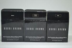 Bobbi Brown Skin Foundation Mineral Makeup SPF 15 BNIB 0.2oz./6g ~choose shade~