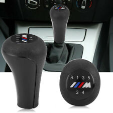 Black  Manual 5 Speed M Gear Shift Knob Shifter Knob For BMW E60 E87 E90 E46 E36