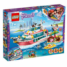 41381 LEGO Friends Rescue Mission Boat & Island Set with Accessories 908 Pieces