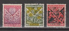 NVPH Netherlands Nederland 208  209  210 used 1927 Kinderzegels Pays Bas